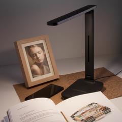 Настольный светодиодный светильник Pele черный TL80960 Elektrostandard