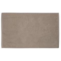 Коврик для ванной ворсовый из чесаного хлопка бежевого цвета из коллекции Essential, 50х80 см Tkano TK20-BM0001