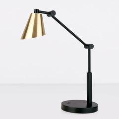 Настольный светодиодный светильник Fabula сатинированное золото TL70100 Elektrostandard