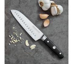 Нож кухонный Сантоку 18см KitchenAid KKFTR7SKWM