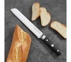 Нож кухонный для хлеба 20см KitchenAid KKFTR8BRWM