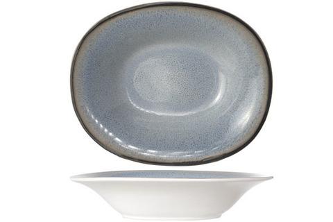 Тарелка для супа овальная 17,5х21,5 см COSY&TRENDY Fez blue 7876174