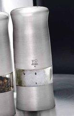 Мельница Peugeot Zeli для соли,14 см, хромированный пластик, на батарейках 24086