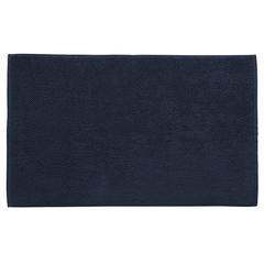 Коврик для ванной ворсовый из чесаного хлопка темно-синего цвета из коллекции Essential, 50х80 см Tkano TK20-BM0002