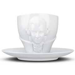 Чайная пара Tassen Talent Wolfgang Amadeus Mozart, 260 мл, белая T80.02.01