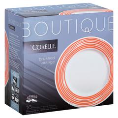 Набор посуды 16 предметов Corelle Brushed Orange 1117024