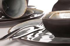 Тарелка для ужина 26,5 см COSY&TRENDY Laguna blue-grey 5556318