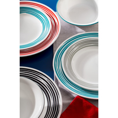 Набор посуды 16 предметов Corelle Brushed Red 1117028