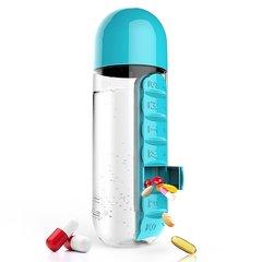 Бутылка органайзер Asobu In style (0,6 литра) голубая PB55 blue