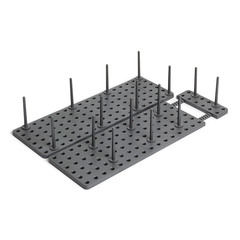 Органайзер для посуды и столовых приборов Peggy серый Umbra 1004318-149
