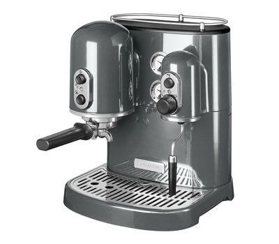 Кофеварка KitchenAid Artisan Espresso (Серебряный медальон) 5KES2102EMS фото