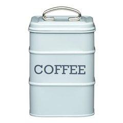 Ёмкость для хранения кофе Living Nostalgia blue Kitchen Craft LNCOFFEEBLU
