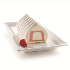 Форма для приготовления пирожных Inserto Buche 22 х 5 см силиконовая Silikomart 20.404.13.0065