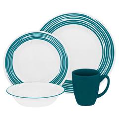 Набор посуды 16 предметов Corelle Brushed Turquoise 1117023