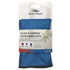 Тряпка для мытья стекол из микрофибры 30х30 см Nordic Stream 15353