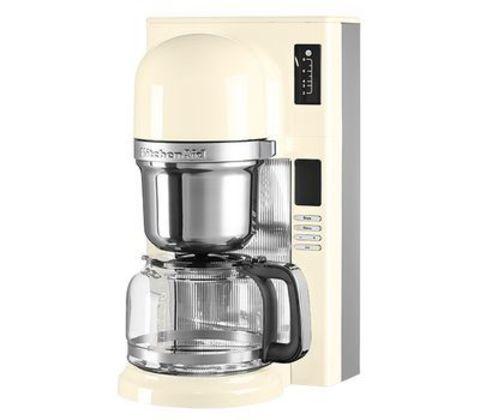 Кофеварка заливного типа 1,18л KitchenAid  (Кремовый) 5KCM0802EAC