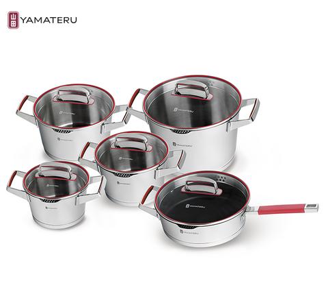 Набор посуды 10 предметов Yamateru Kaminari 4991008