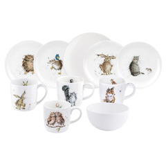 Сервиз чайно-столовый Royal Worcester Mix&Match на 4 персоны 16 предметов MONR09-RWC WN5658-MM5629