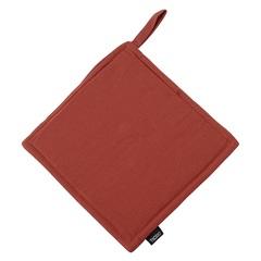 Прихватка из хлопка терракотового цвета из коллекции Prairie, 22х22 см Tkano TK20-PH0001