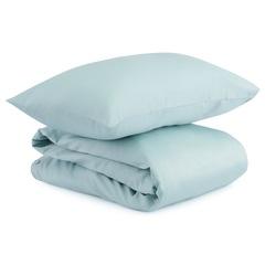 Комплект детского постельного белья из сатина голубого цвета из коллекции Essential, 110х140 см Tkano TK20-KIDS-DC0007