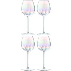 Бокал для белого вина Pearl 4 шт. LSA G1332-12-401