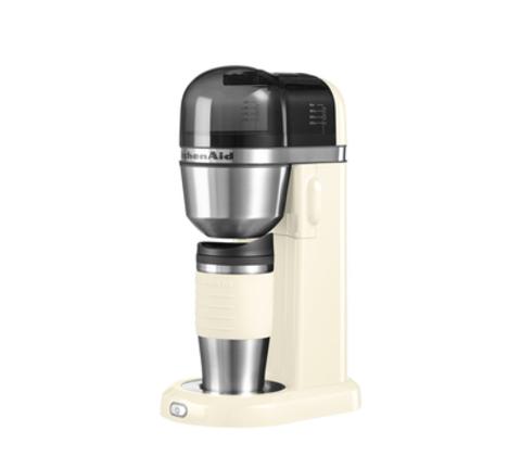 Кофеварка персональная заливного типа 1л KitchenAid (Кремовый) 5KCM0402EAC