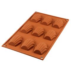 Форма для приготовления пирожных Madeleine силиконовая Silikomart 20.032.00.0065