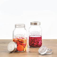 Набор из 2 банок для ферментации в подарочной упаковке Kilner K_0025.010V