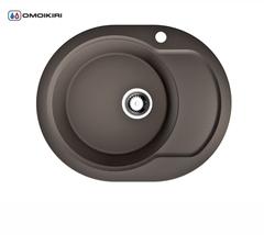 Кухонная мойка из искусственного гранита (Artgranit) OMOIKIRI Manmaru-62-DC (4993352)