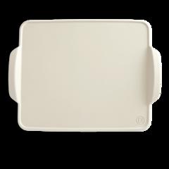 Противень керамический для выпечки Emile Henry (цвет: лен) 505042