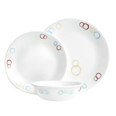Набор посуды 12 предметов Corelle Circles 1118182