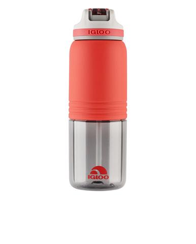 Бутылка для воды Igloo Swift 24 (0,710 литра), коралловая
