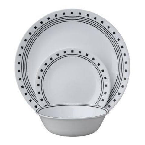 Набор посуды 16 предметов Corelle City Block 1118130