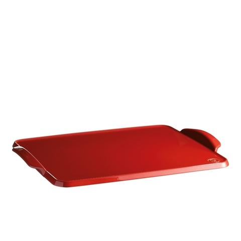 Противень керамический для выпечки Emile Henry (цвет: гранат) 345042