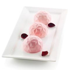 Форма для приготовления пирожных Mini Gemma 18 х 34 см силиконовая Silikomart 26.246.13.0065