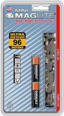 Фонарь MAGLITE Mini, 2AA, камуфляж, 14,6 см, в блистере M2A026E