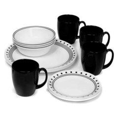 Набор посуды 16 предметов Corelle City Block 1074208