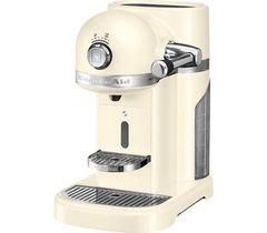 Кофемашина капсульная 1,4л KitchenAid Artisan Nespresso (Кремовый) 5KES0503EAC