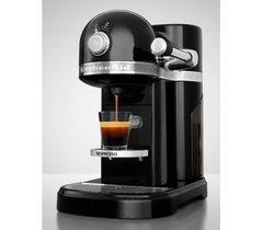 Кофемашина капсульная 1,4л KitchenAid Artisan Nespresso (Черный) 5KES0503EOB