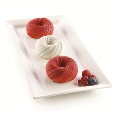 Форма для приготовления пирожных Mini Intreccio 18,2 х 33,7 см силиконовая Silikomart 26.290.13.0065
