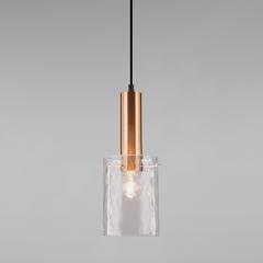 Подвесной светильник Eurosvet Asti 50177/1 черный/бронза