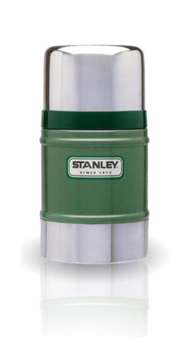 Термос для еды Stanley Classic Vacuum Food (0,5 литра) темно-зеленый 10-00811-010