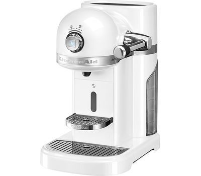 Кофемашина капсульная 1,4л KitchenAid Artisan Nespresso (Морозный жемчуг) 5KES0503EFP