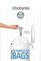 Пакет пластиковый 50/60л 30шт Brabantia 375705
