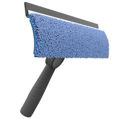 Швабра для мытья стекол и зеркал со сменной насадкой из микрофибры Nordic Stream 15335