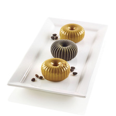 Форма для приготовления пирожных Mini Raggio 18 х 33,6 см силиконовая Silikomart 26.233.13.0065