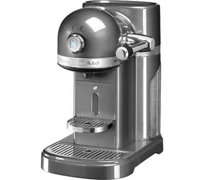 Кофемашина капсульная 1,4л KitchenAid Artisan Nespresso (Серебряный медальон) 5KES0503EMS фото