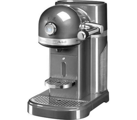Кофемашина капсульная 1,4л KitchenAid Artisan Nespresso (Серебряный медальон) 5KES0503EMS