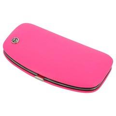 Маникюрный набор GD, 5 предметов, цвет розовый, кожаный футляр 1557R