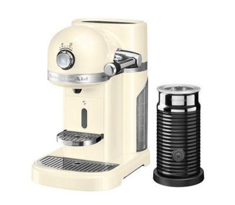Кофемашина капсульная 1,4л KitchenAid Artisan Nespresso и Aeroccino (Кремовый) 5KES0504EAC